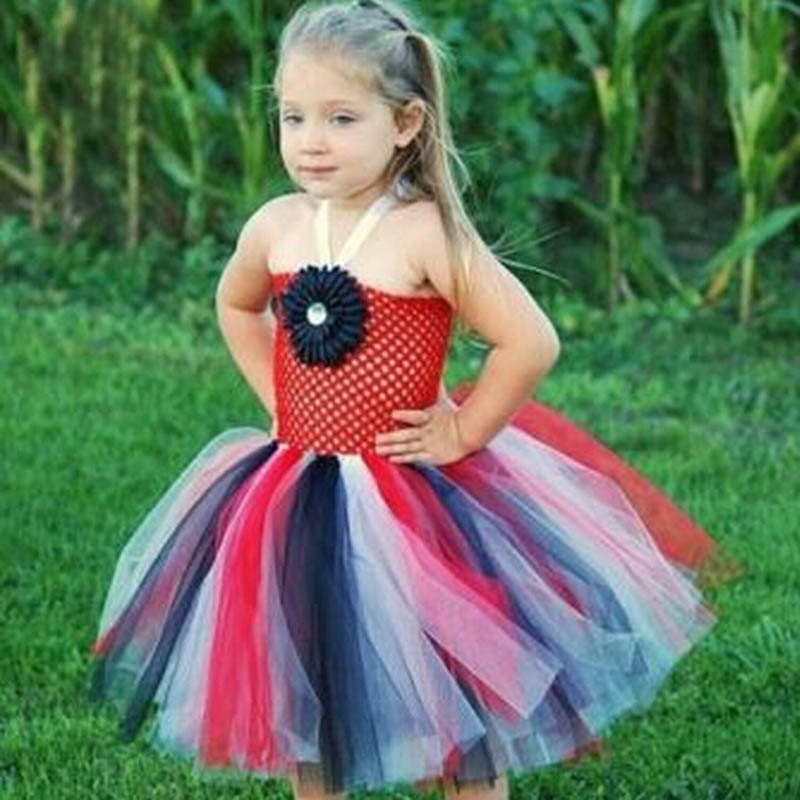 Christmas Halloween Costume Baby Girls Tulle Tutu Dress Princess Flower Rainbow Summer Dress Photo Props TS048-in Dresses from Mother u0026 Kids on ...  sc 1 st  AliExpress.com & Christmas Halloween Costume Baby Girls Tulle Tutu Dress Princess ...