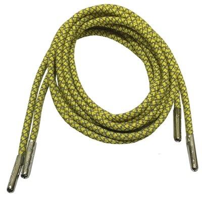 3м Reflective Runner круглые шнурки для ботинок, длина с серебряными наконечниками с металлическим наконечником с фактурой советы - Цвет: Yellow