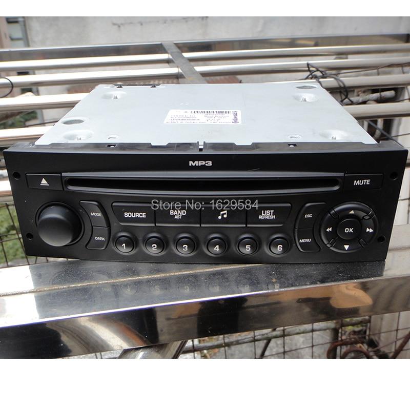 Genuine RD45 Car Radio USB Bluetooth Aux For Peugeot 206 207 307 308 For Citroen C2 C3 C4 C5