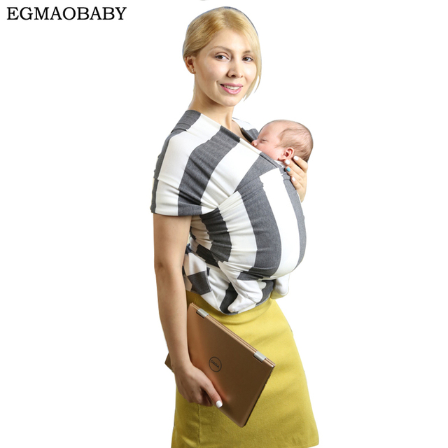 Egmao Hot Comfortable Infant Wrap Natural Cotton Hipseat Baby Sling