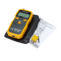 HYELEC MS6501 Professional LCD Display Wireless K Type Digital Thermometer Temperature Meter Thermocouple W Data Hold