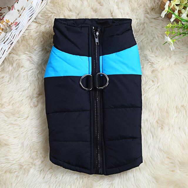 S-5XL 8 Size Avaliable Dog Clothes Coat Waterproof Pet Dog Puppy Vest Pubby Jacket Dog Raincoat Warm Winter clothing for dog