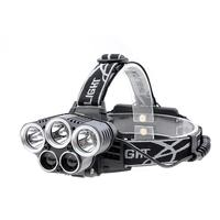 5LED Rechargeable Headlamp Flashlight Super Bright Head Torch Waterproof Head Lamp For Outdoor Running Camping Hiking