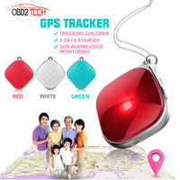 Mini A9 GPS Tracker Necklace SOS Call Remote Voice Monitor GPS WiFI LBS Real Time Tracking for Kids the Elderly and Pets