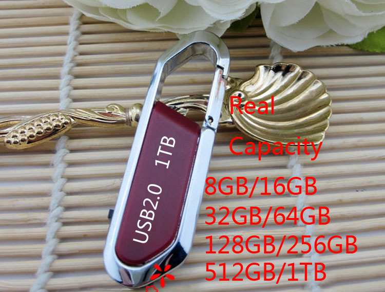 A+ Quality Hotselling Hook Usb Flash Drive 128GB 256GB 512GB Pendrive 1TB 2TB Pen Drive 32GB 64GB Memory Stick Flash Card Disk