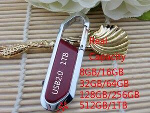 A + qualidade hotselling gancho usb flash drive 128gb 256gb 512gb pendrive 1tb 2tb pen drive 32gb 64gb memória vara cartão flash disco