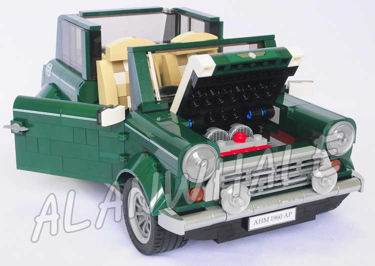 1079 шт. Creator Expert MINI Cooper Mk VII мобильные автомобили 10568 3D модель строительные блоки сборка подарочные наборы Совместимость с Lego