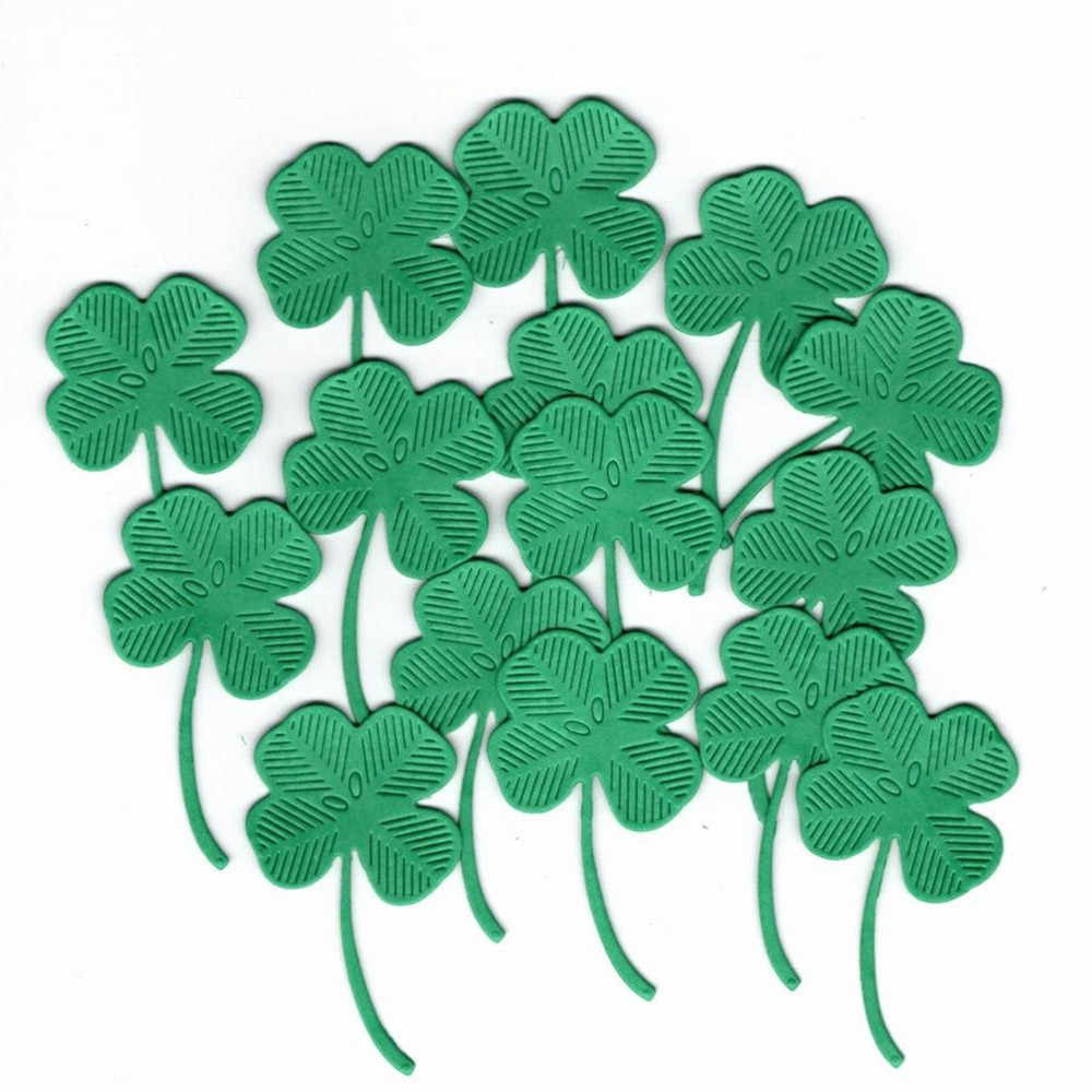 Gowing Four Leaf Clover Stitched Metal Cutting Dies Stencil Scrapbooking For Card Making DIY Embossing Cuts 2019 New Craft Die