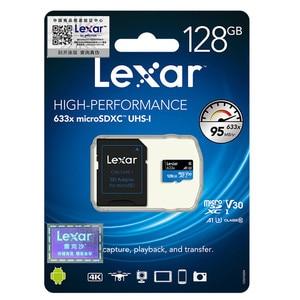 Image 5 - プロモーション!!! 16 ギガバイト 32 ギガバイトレキサーマイクロ SD Sdhc メモリーカード高速 64 ギガバイト 128 ギガバイトのマイクロ SDXC カード TF カード Class10 633 × 95 M/s