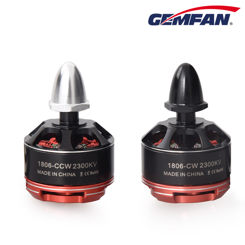 Gemfan Motor Brushless 1806 2300KV Mini Motor for QAV210 250 Emax Nighthawk 280 Multicopter CW CCW Motor  FPV Quadcopter Vtol 4x emax mt1806 brushless motor cw ccw