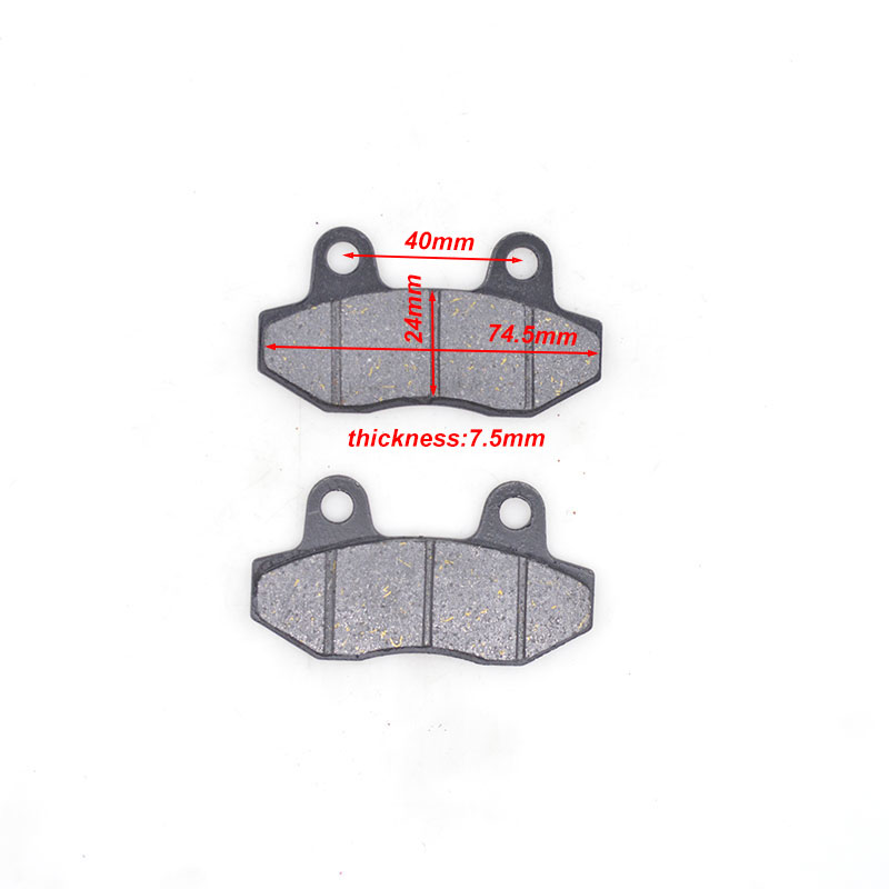 Motorcycle Front & Rear Brake Pads For HYOSUNG GT125 RX125 RT125 GV125 GT250 GV250 RX400 GT650 GT650R GT650S