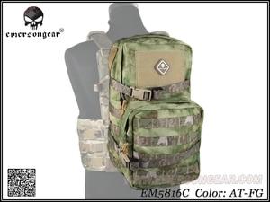 Image 4 - Equipo militar del ejército EMERSON, mochila de juego de guerra de senderismo, mochila de asalto Modular con bolsa de hidratación de 3L EM5816