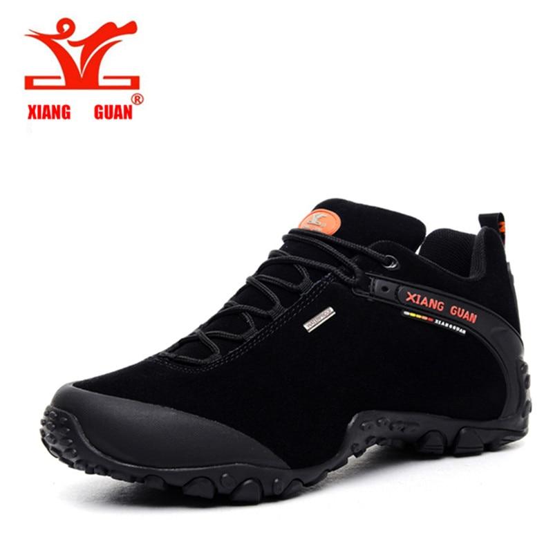 New XIANG GUAN Mens Sports Outdoor Hiking Trekking Shoes Sneakers For Men Sport Wearable Climbing Mountain Shoes Man Senderismo