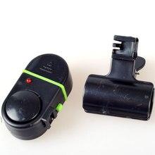 Hot Sales Sound-light Slarm Device Fishing Rod Pole Electronic Bite Fish Line Alarm Bell  LED light  Fishing Tackle Accessories