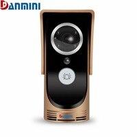 DANMINI 720P HD Wireless WiFi Video Doorbell Peephole Viewer IR Night Version Camera Door Phone Visual
