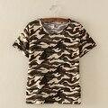 4 Styles Harajuku Estilo Summer Tee Shirts Camouflage Womens Tops Hipster T Shirts Poleras De Mujer Roupa Feminina