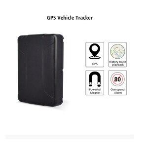Image 5 - Motocicleta Car GPS Tracker Locator WT07 Ferramenta de Rastreamento de Veículos GPS + LBS Dupla 5000/10000mAh Tempo À Espera Longo posição livre App