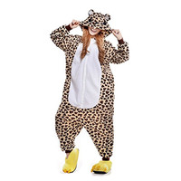 Cosplay Children Unisex Leopard Bear Animal Kigurumi Child Onesie Pajamas Costume