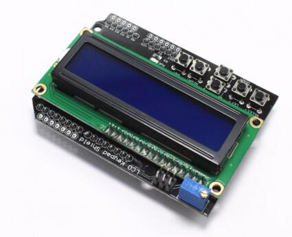 LCD Keypad Shield LCD1602 LCD 1602 Module Display for ATMEGA328 ATMEGA2560 raspberry pi UNO blue screen Connector