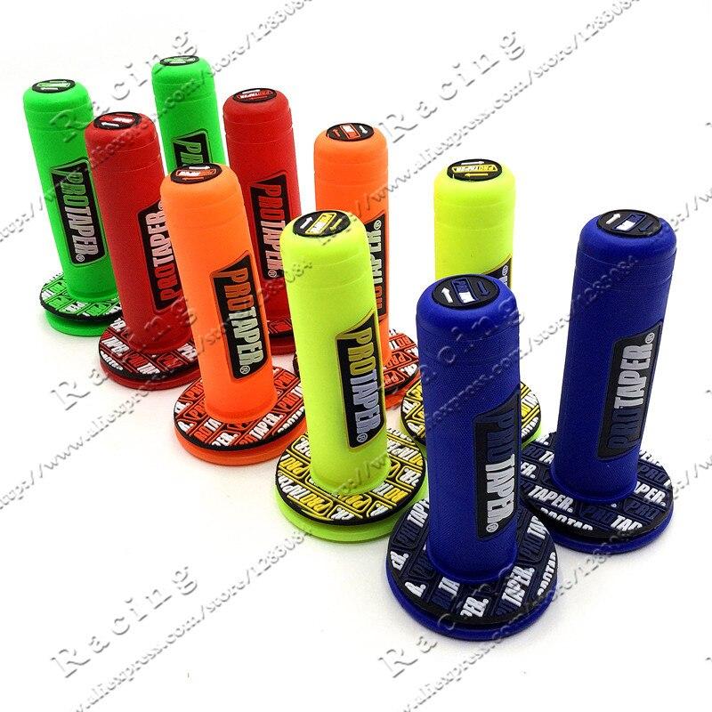 Цветная ручка MX Grip Pro, подходит для GEL GP, резиновый руль для мотоцикла, питбайка, бесплатная доставка