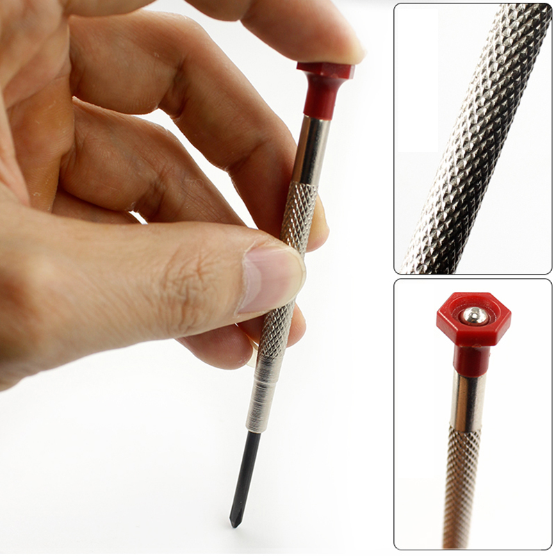 Mini Small Screwdriver Set with Slotted Phillips Bits for Multifunction Watch Glasses Screw driver Repair Tool in Screwdriver from Tools