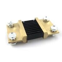 DC Huidige Divider Shunt Weerstand 75MV 1000A Voor Ammeter Ammpere Panel Meter Voltage