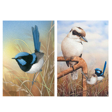 DIY Birds 5D Round Full Drill Diamond Painting Embroidery Cross Stitch Kit Rhinestone Home Decor Craft Christmas Gifts chicken diy 5d round full drill diamond painting embroidery cross stitch kit rhinestone home decor craft christmas gifts