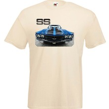 9a64d8381 2018 Hot Sale Classic American Muscle Car Chevelle SS Printed T Shirt(China)
