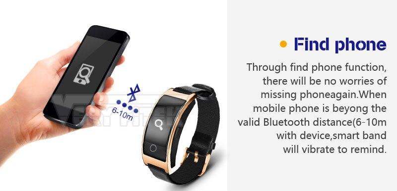 VERYFiTEK CK11S Fitness Bracelet Blood Pressure Smart Wristband heart rate monitor pulsometer Bracelets for xiomi pk fit bit-01 (12)