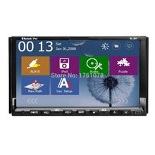 "2015 NEW Windows 8 UI Double 2 Din In-Dash GPS Navigation Car Stereo DVD CD MP3 Player 7"" HD Car Audio Radio Bluetooth+IPOD+RDS"
