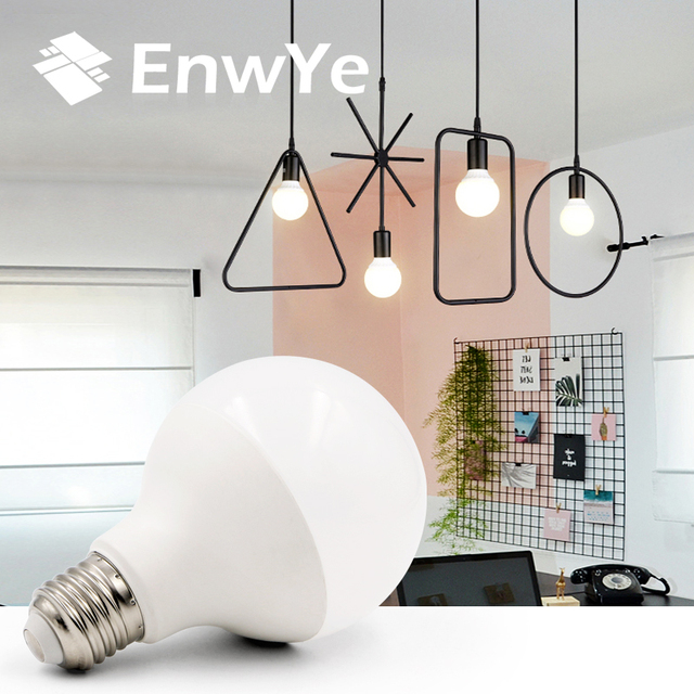 EnwYe LED Bulb 220V 230V 240V Cold White/Warm White 15W 20W 25W E27 LED Dragon Ball Bulb Light Bulbs Indoor Lighting