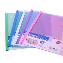 60pcs Wholesale Transparent A4 Document Bag PVC File Folder Office and School Supplies File Document Bag
