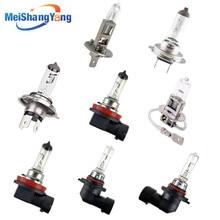 100W Car Headlight Super Bright Halogen Bulb H1 H3 H4 H7 H8 H11 9005 HB3 9006 HB4 12V 55W 4300K Clear Fog Lights Driving Lamp