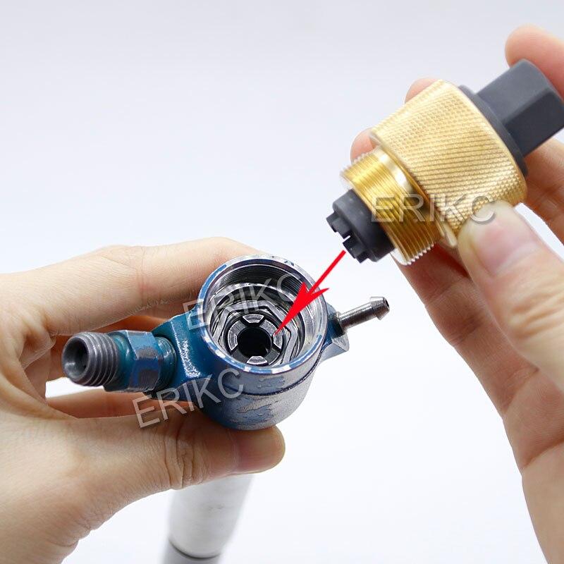 ERIKC Common Rail Injector Gereedschap voor Piezo Siemens Injector Demontage