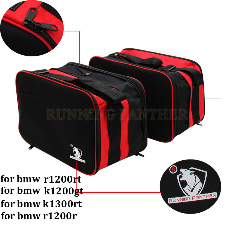 Pannier Liner Inner Bags Expandable For BMW R1200RT R1200R R1200GT K1300GT