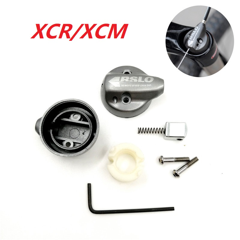 SUNTOUR XCM XCR Front <font><b>Fork</b></font> Damping Remote Lock Out Switch Assembly Oil & Gas Damping <font><b>Fork</b></font> Repair Accessories image