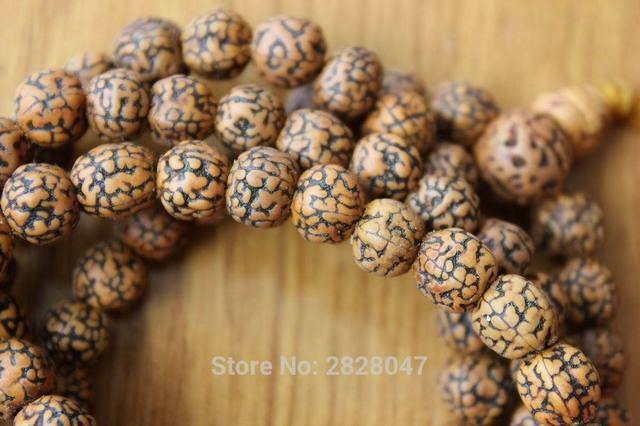Купить ml137 винтажные тибетские 108 бусин старый смазанный рудракш