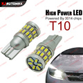2pcs Xenon White T10 28 smd 3014 LED Bulb for Car Parking License Plate Light Clearance Position DRL Reading Light w52 168 194