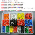 7 color 6 value 2120pcs/lot Bootlace  Ferrules kit set Wire  Crimp Connector Insulated Cord Pin End Terminal