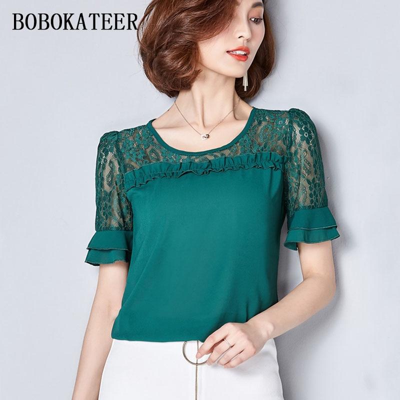 blusas women blouses plus size women clothes vetement femme chiffon blouse ladies tops camisas femininas 2018 white shirt roupas