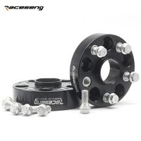 2PCS 5x100 Hubcentric 57.1mm 25/30/35mm Aluminum Wheel Spacer Adapter 5 Lug for VW Volkswagen golf 4