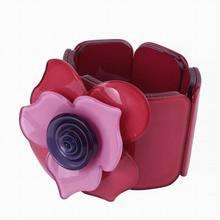 Pulseras Brazaletes Pulseiras Pulseras Mujer Nueva Moda de Acrílico de la Pulsera Rose Accesorios Colgante Cadena Mejor Regalo Para Las Mujeres