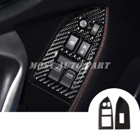 Carbon Fiber Inner Window Switch Cover For Toyota 86 GT86 Scion FR S 2012 2018