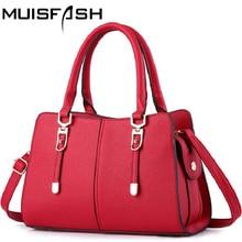 2017 New Fashion Women Leather Handbags Women Messenger Bags Shoulder Bag Women Bags Pouch Bolsos Feminina High Quality LS1076