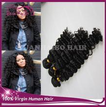 Top Quality 8-30Inch Malaysian Deep Wave Hair Weave colr 1B Virgin Human Malaysian Hair Bundles 8A Doubole Drawn Hair Extension