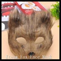 Brun Blanc Femmes mascarade vénitienne carnaval party boule fox chat visage masque halloween activités Fête D'anniversaire Fille Masques