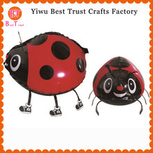 1000 pcs/lot walking ladybird foil balloons for birthday party decorations kids Animal walking balloons Helium Gift Globos Balon цена и фото