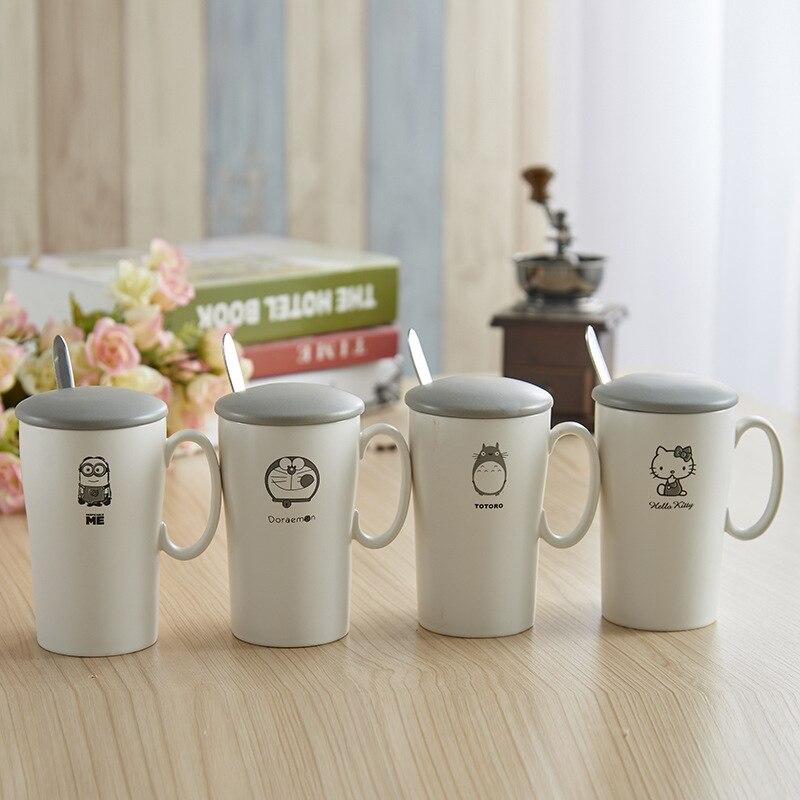 400ml my cartoon mugs personality Water mugs Handmade Creative coffee mugs Water Cups Home Drinkware Unique Gift