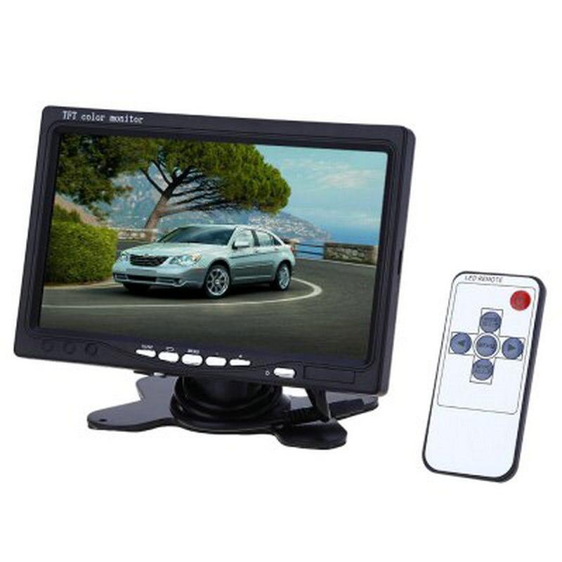 Olly Murs XM722T 7 Inch Car Headrest Displayer 234 x 480 TFT LCD Screen Monitor qd