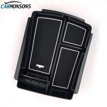 Carmonsons подлокотник ящик для хранения Контейнер держатель лоток Kia Sorento 2015 2016 интимные аксессуары автомобильный Органайзер стайлинга автомобилей
